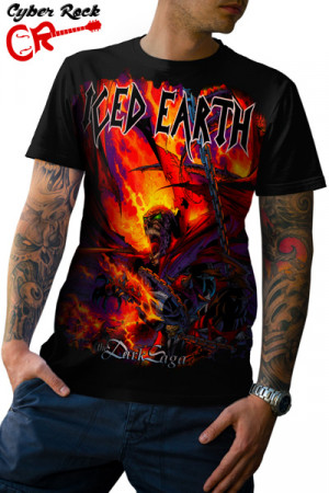 Camiseta Iced Earth Dark Saga