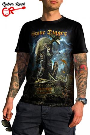 Camiseta Grave Digger Exhumation
