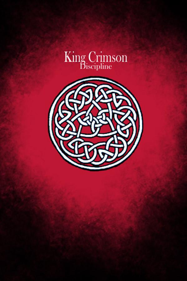 Camiseta King Crimson Discipline