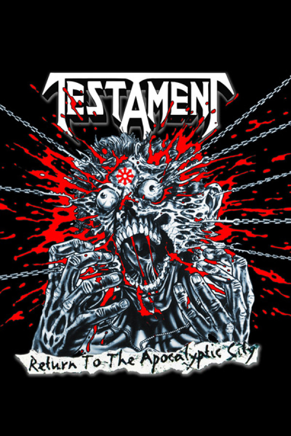 Camiseta Testament Return To The Apocalyptic City