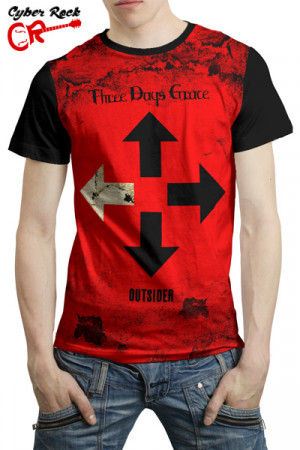 Camiseta Three Days Grace Outsider
