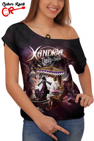 Blusinha Xandria Theater Of Dimensions