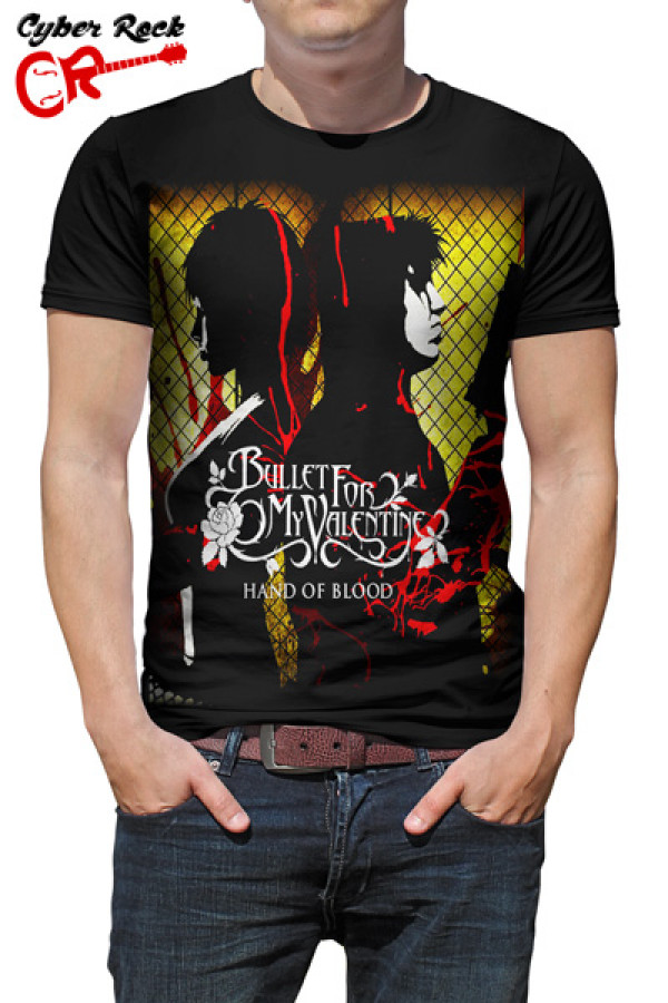 Camiseta Bullet For My Valentine Hand Of Blood