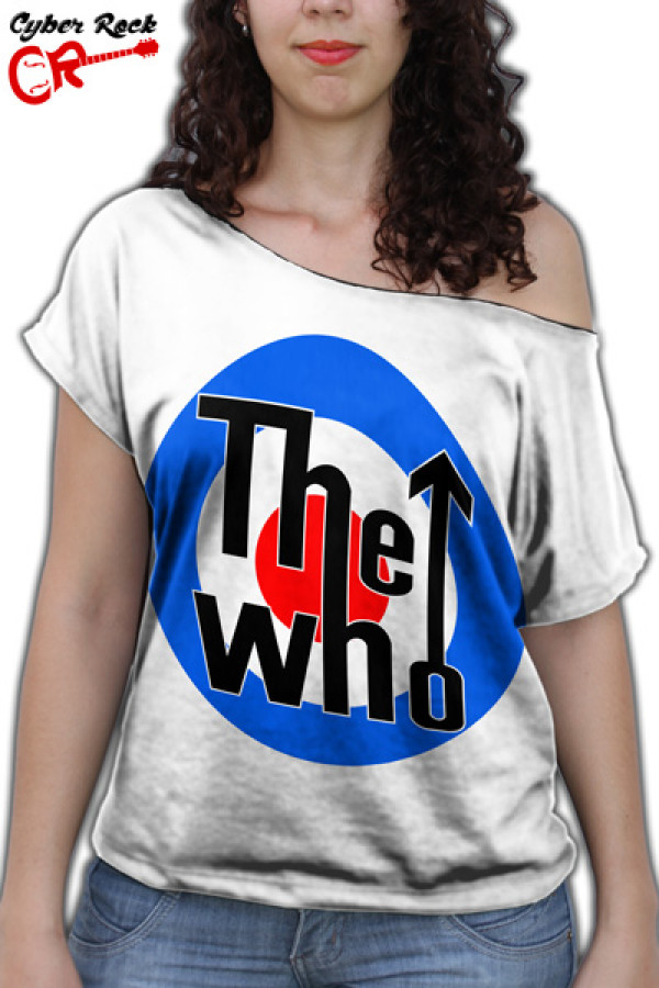 Blusinha The Who Logo Branca