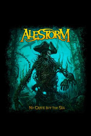 Camiseta Alestorm No Grave But The Sea
