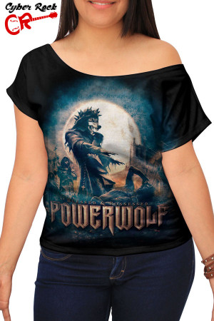 Blusinha Powerwolf Blessed & Possessed