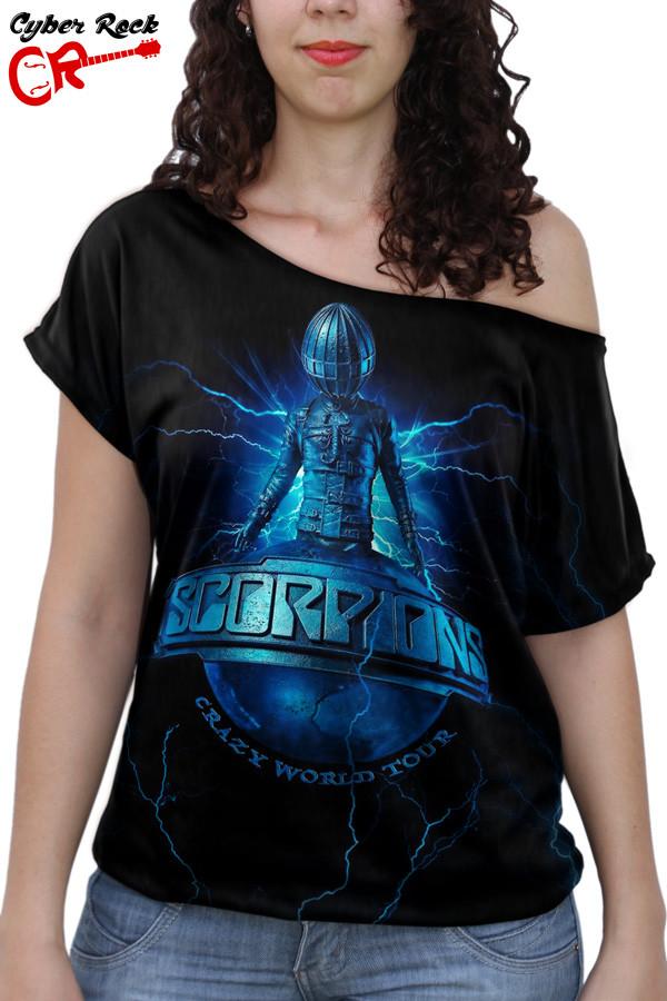 Blusinha Scorpions Crazy world tour