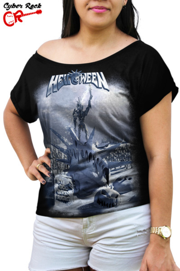 Blusinha Helloween - My God Given Right