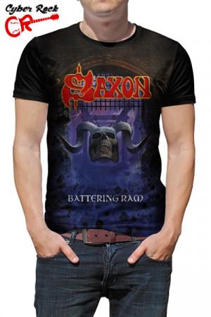Camiseta Saxon Battering Ram
