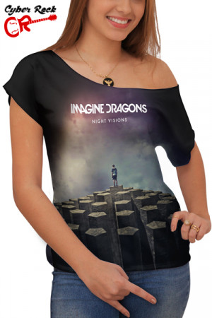 Blusinha Imagine Dragons - Night Visions