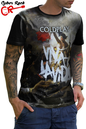 Camiseta Coldplay Viva la Vida