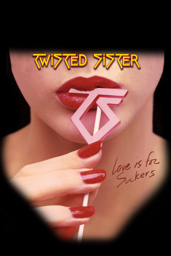 Camiseta Twisted sisters - Love is for Suckers