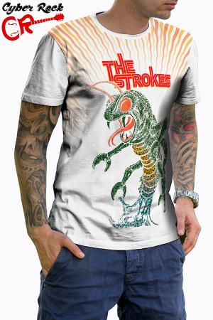 Camiseta The Strokes branca