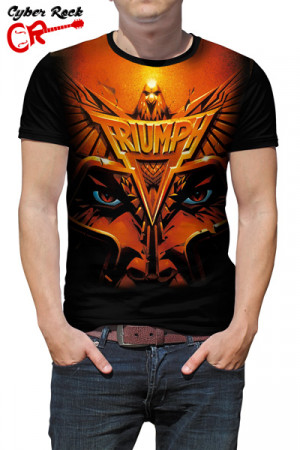Camiseta Triumph - Never Surrender