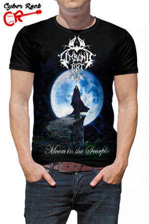 Camiseta Limbonic Art Moon In the Scorpio