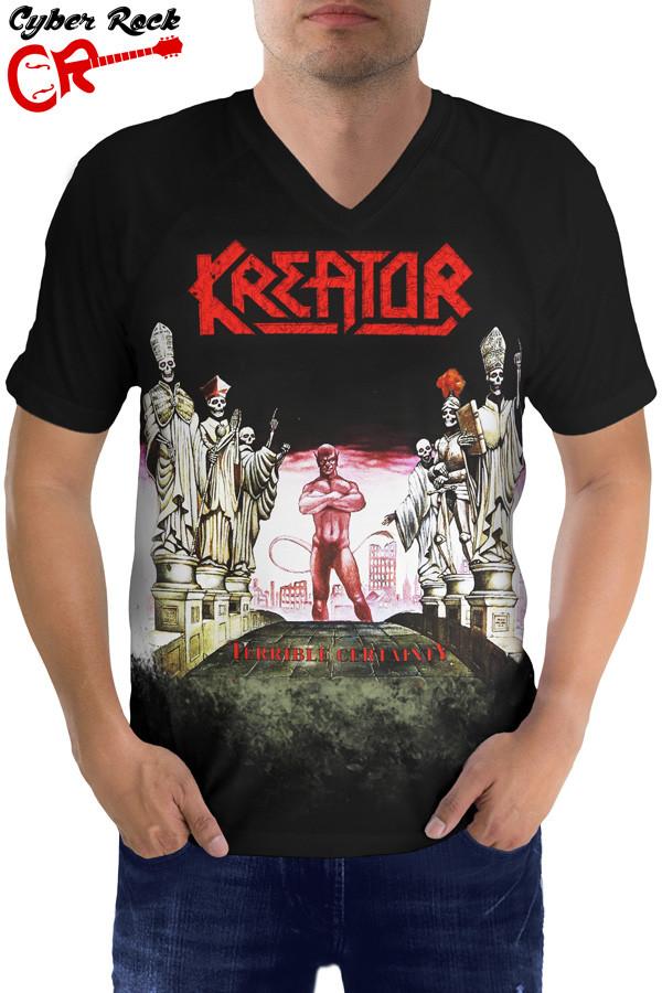 Camiseta Raglan Kreator Terrible Certainty ft