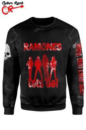 Blusa Moletom Ramones Lets Go