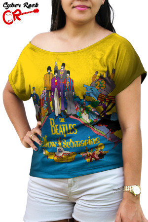 Blusinha The Beatles Yellow Submarine