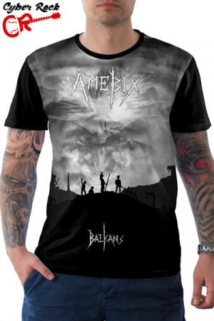 Camiseta Amebix Balkans Tribute