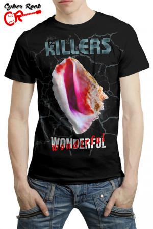 Camiseta The Killers Wonderful Wonderful