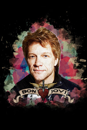 Blusinha Bon Jovi Estampa Exclusiva