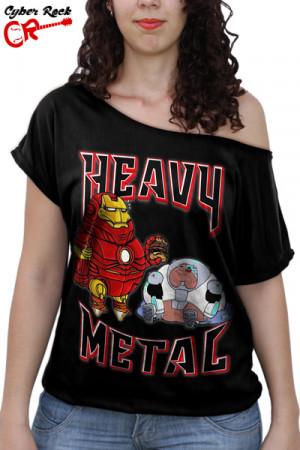 Blusinha Heavy Metal