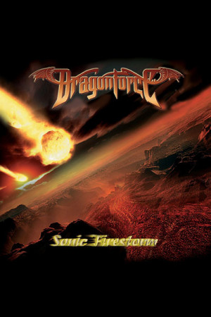 Arte Dragonforce Sonic Firestorm