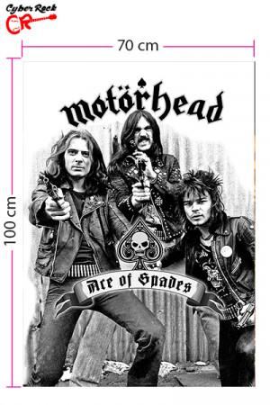 Bandeira Motorhead Ace of Spades