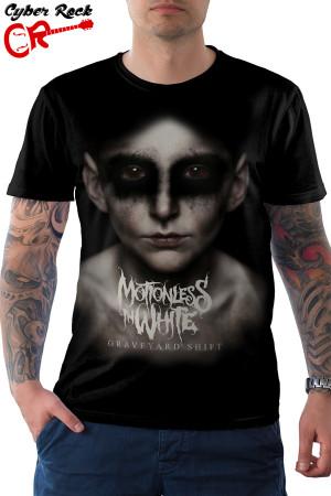 Camiseta Motionless in white-Greveyard  shift