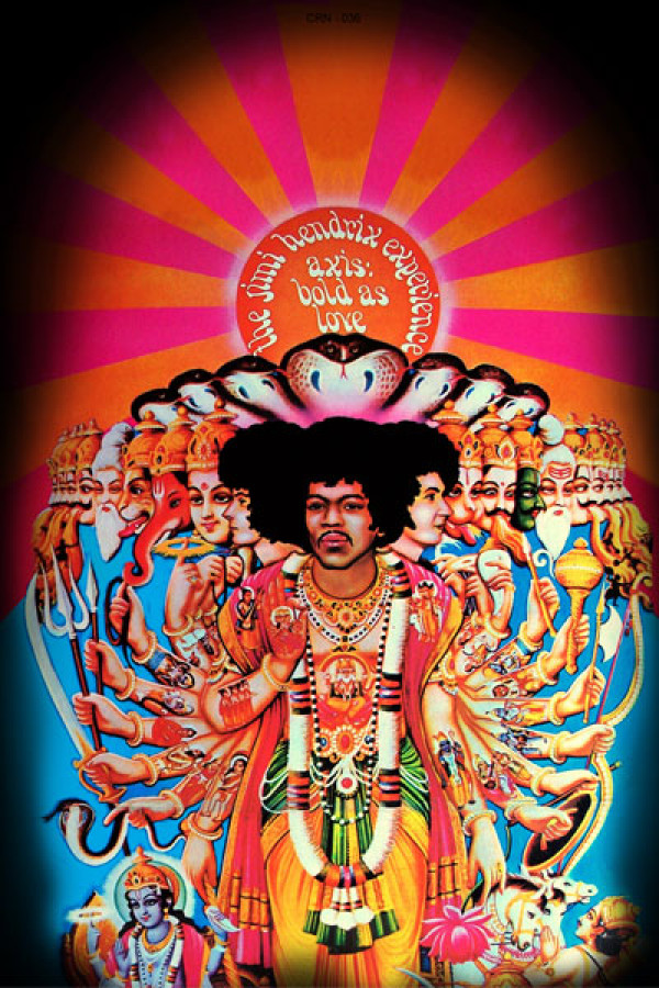 Camiseta Jimi Hendrix Bold As Love