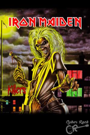 Almofada Banda Iron Maiden Killers