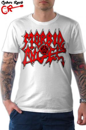 Camiseta Morbid Angel branca