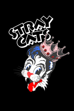 Camiseta Stray Cats
