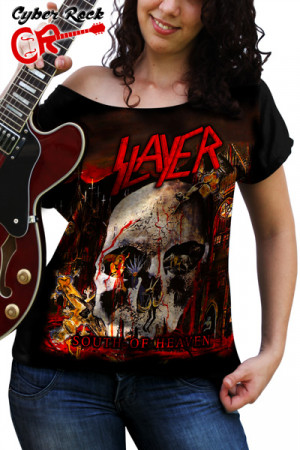Blusinha Slayer South of Heaven