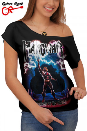 Blusinha Manowar Masters Of The Metal