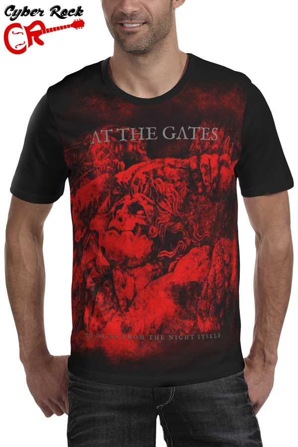 Camiseta  At the Gates To Drink From the Night Itself
