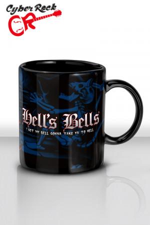Caneca AC DC Hells Bells