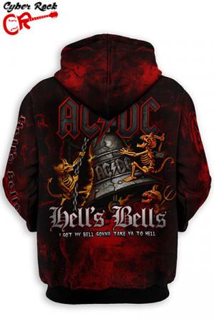 Blusa Moletom AC/DC Hells Bells