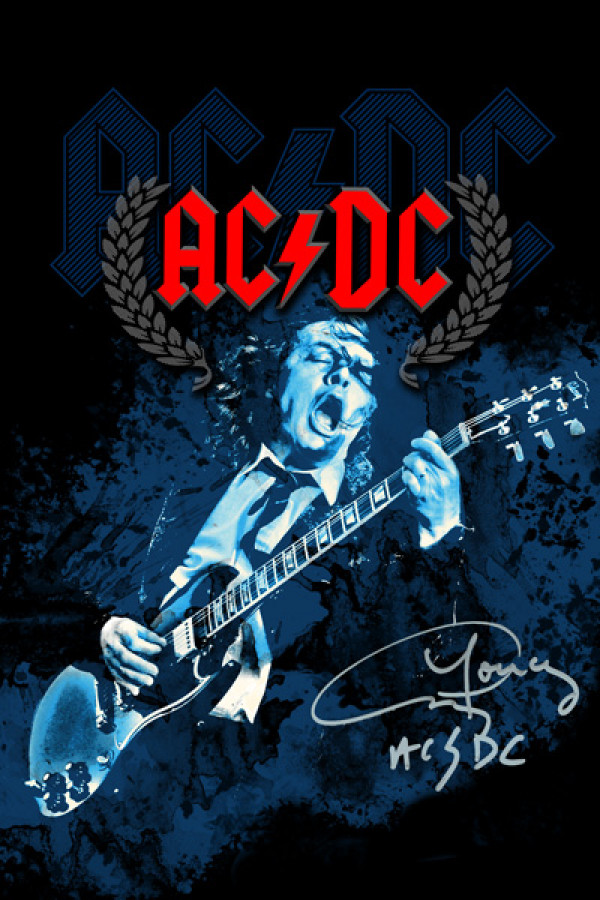 Regata AC/DC Angus Young