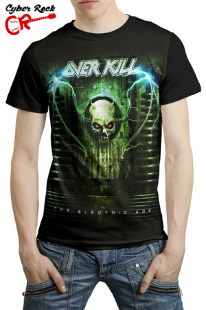 Camiseta Overkill the Electric Age