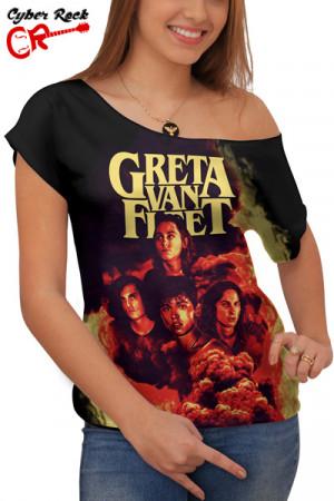 Blusinha Greta Van Fleet Premium
