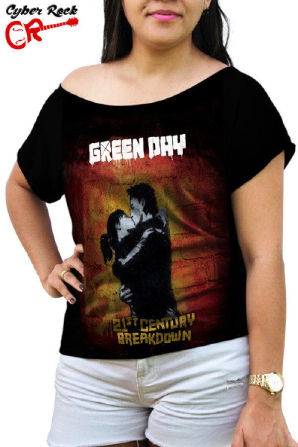 Blusinha Green Day 21 Century Breakdown