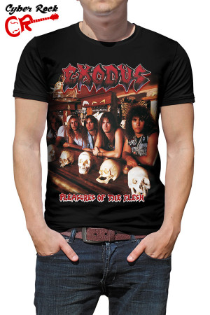 Camiseta Exodus-Plesures of the flesh