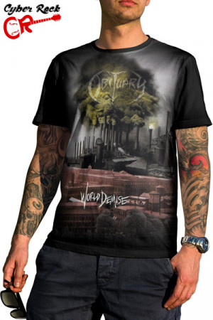 Camiseta Obituary World Demise