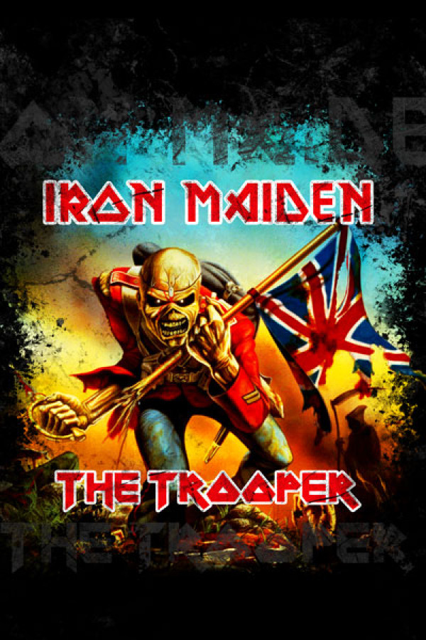 Blusinha Iron Maiden The Trooper