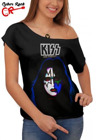 Blusinha Kiss Ace Frehley