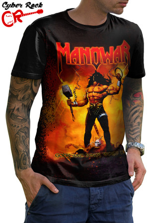 Camiseta Manowar Gods and Kings