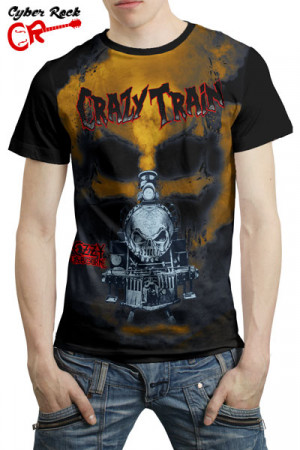 Camiseta Ozzy Osbourne Crazy Train