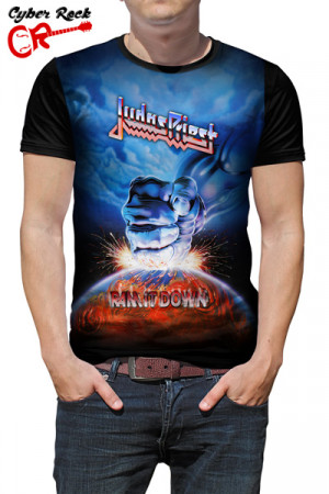 Camiseta Judas Priest - Ram It Down