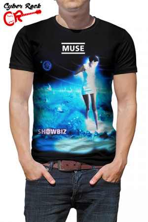 Camiseta Muse Showbiz